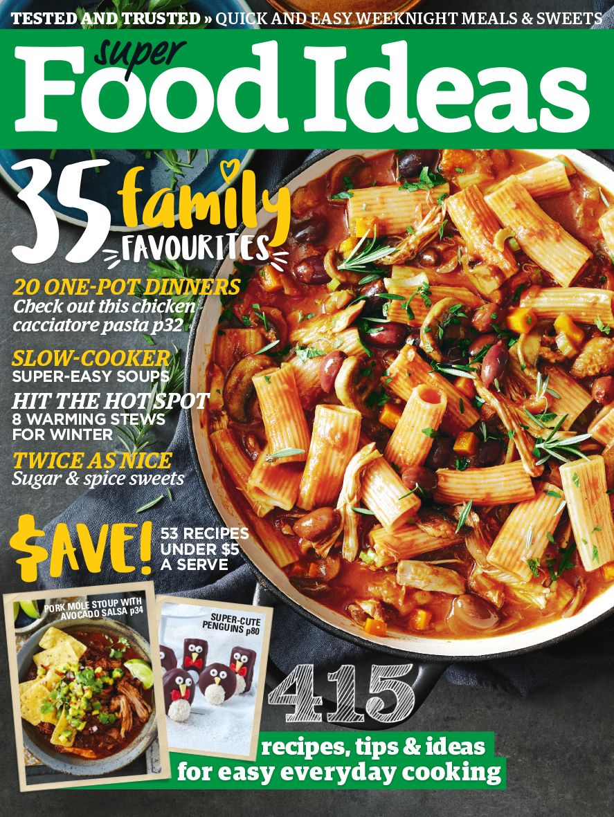 Show details for super food ideas magazine subscription secret super food ideas magazine is all about recipes and ideas so youll never run out of inspiration get your subscription at magshop today and save forumfinder Choice Image