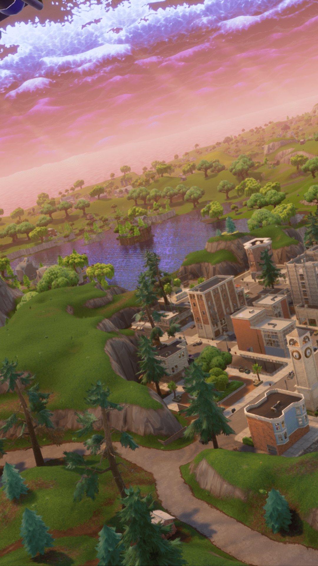 tilted towers - fortnite background tilted towers