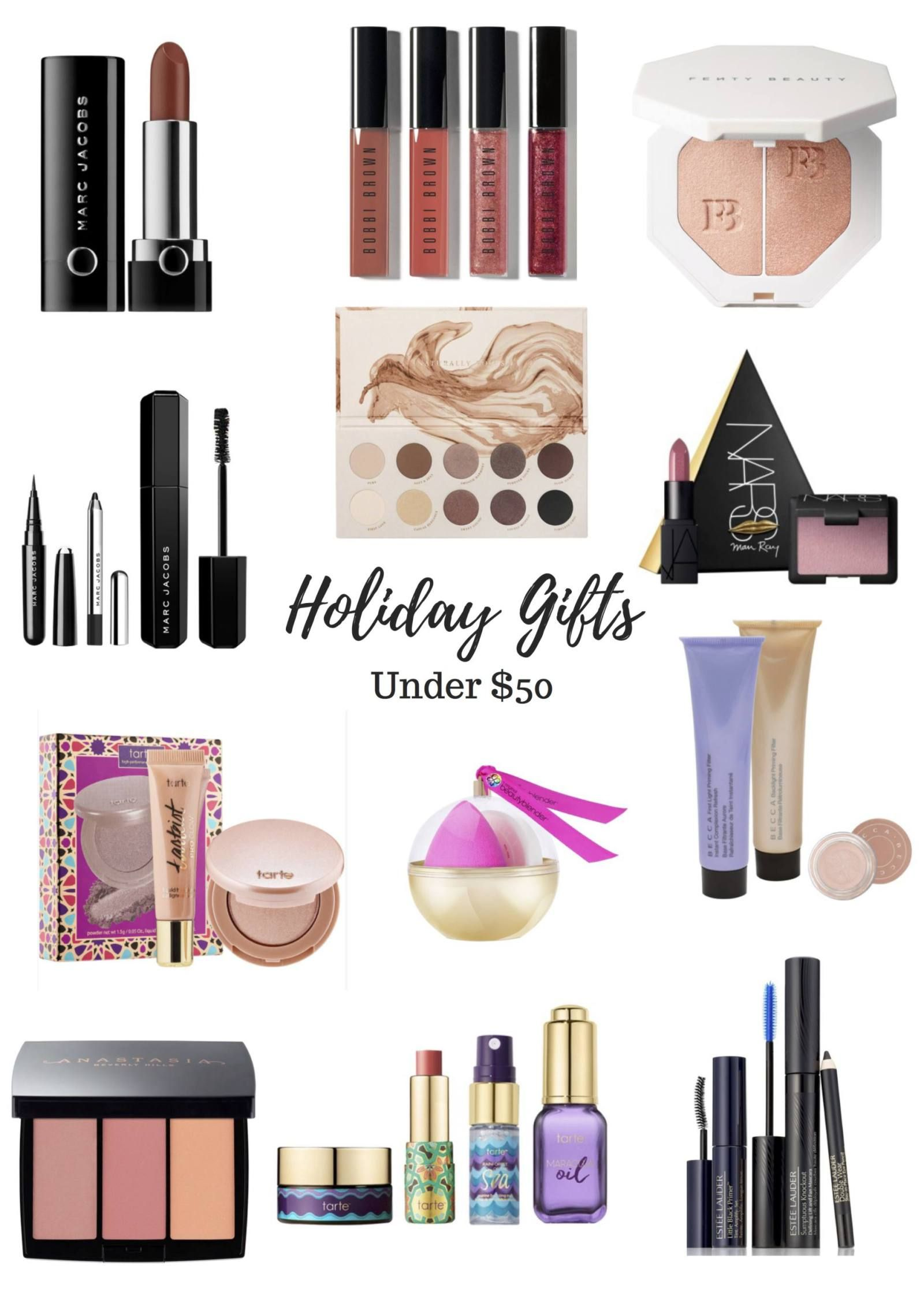 Best Holiday Beauty Gifts Under $50 | Makeup