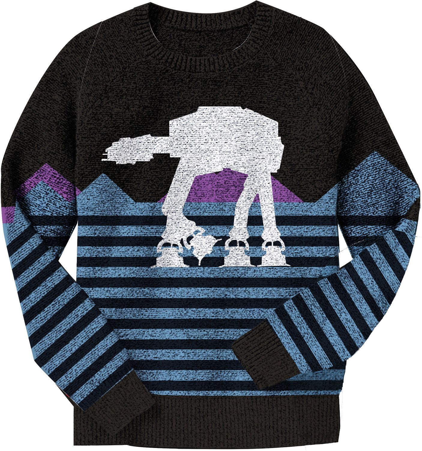 AT-AT Star Wars Sweater | Star and Star wars christmas sweater