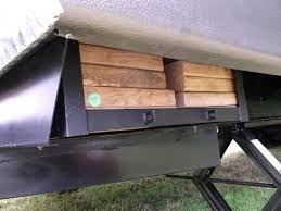 Image result for trailer stabilizer jack blocks homemade | Camping