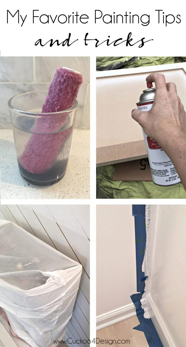 My favorite painting tips and tricks house faves - Interior painting tips and tricks ...