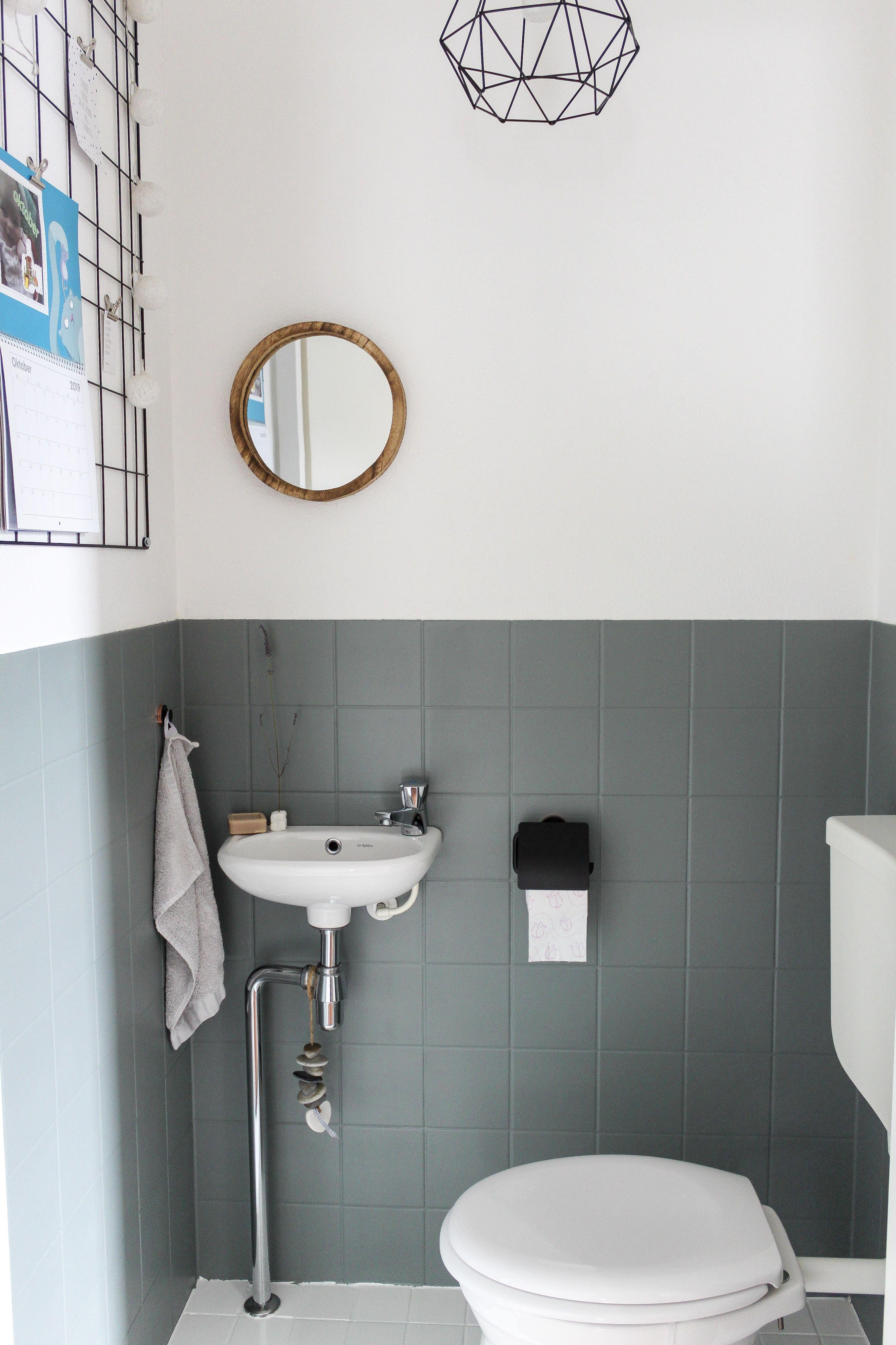 Toilet Make Over Toilet Ontwerp Badkamer Verven Badkamer Tegelverf