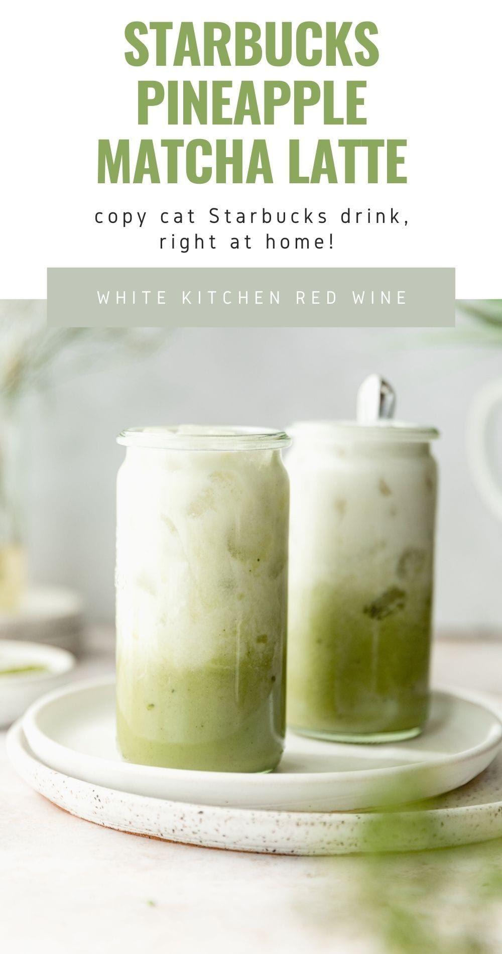 Photo of Starbucks Pineapple Matcha – DIY Healthy Starbucks Latte At Home