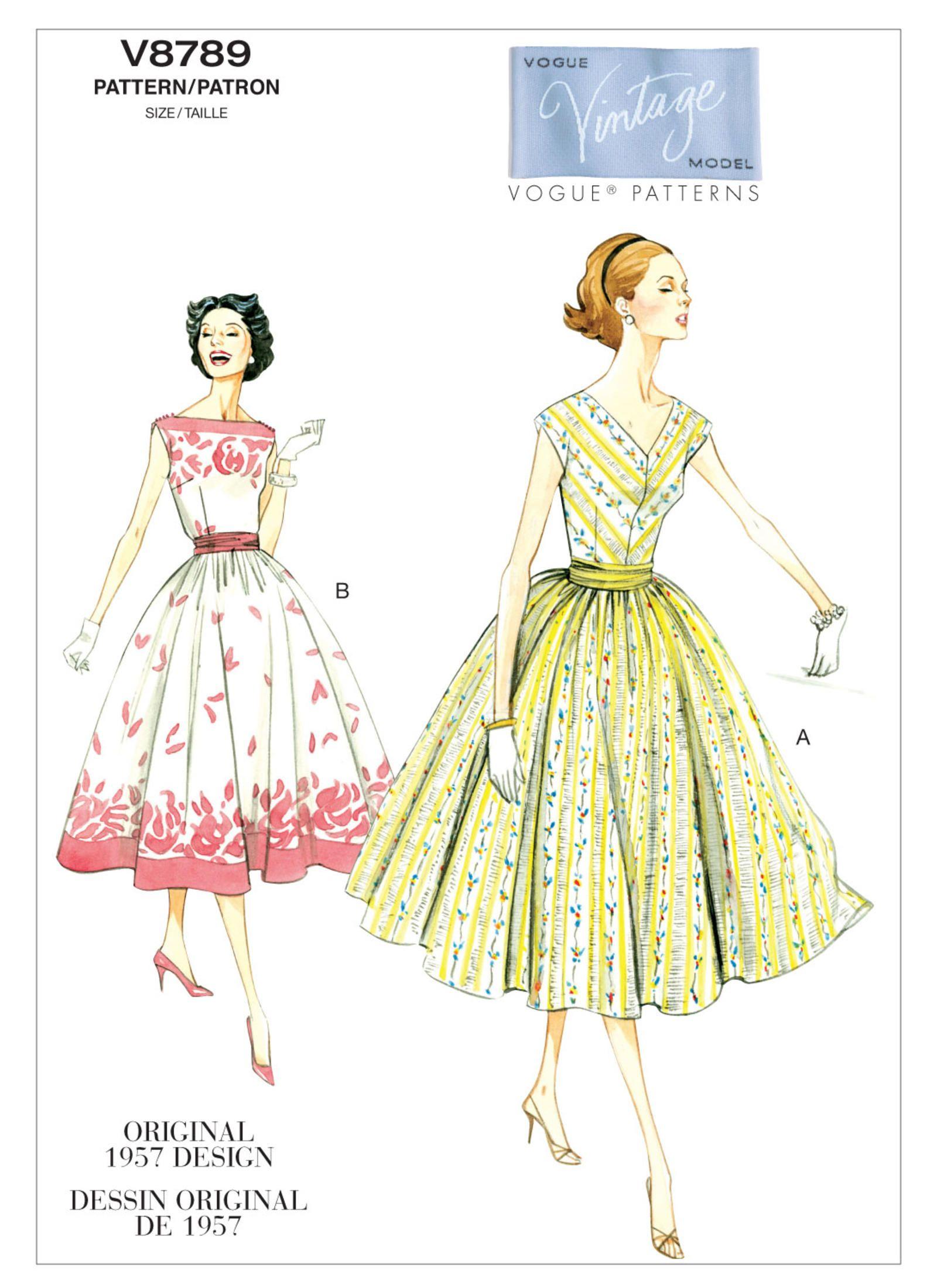 V8789   Vogue Patterns   Sewing Patterns   sewing patterns ...