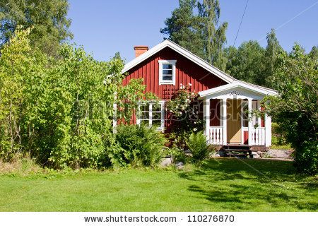 sweden cute houses | Country House Stock Photos, Illustrations, and Vector Art