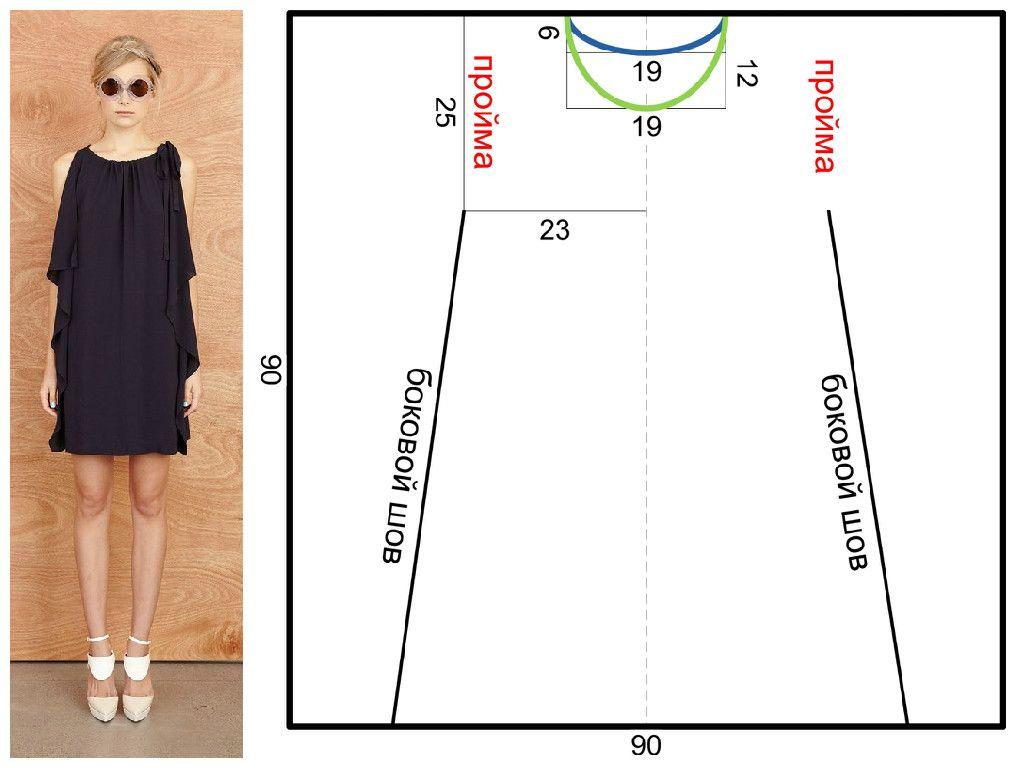 Сшить маленькое платье своими руками выкройки | patrones | Pinterest ...