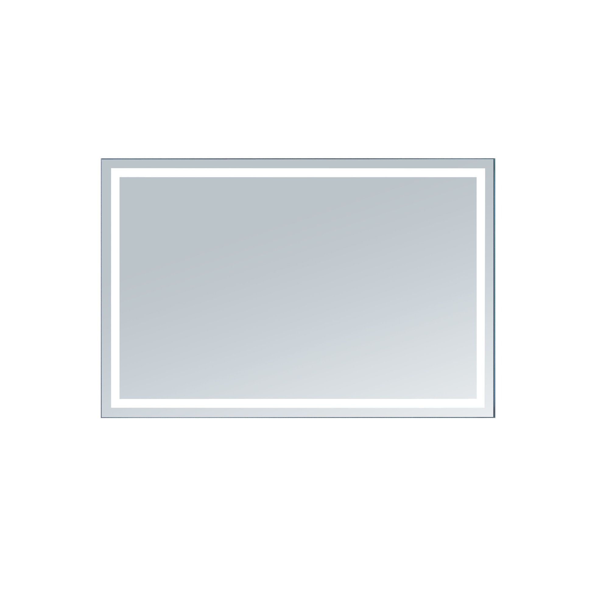 Aluminum Frame Electric Wall Mirror | Products