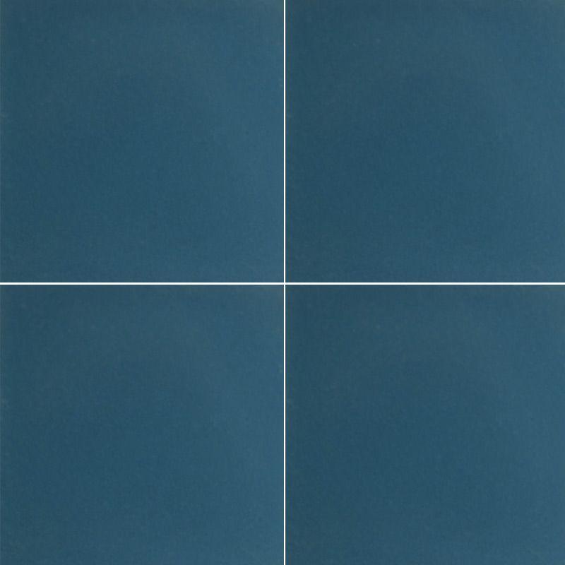 Référence carreaux de ciment unis : U54 bleu canard #Carreaux #de ...