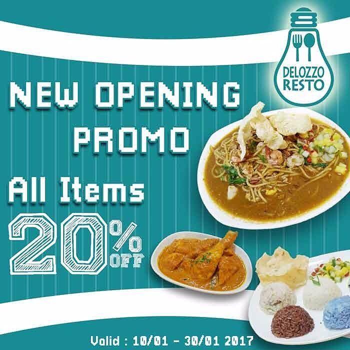 De Lozzo Resto New Merchant Diskon 20 Untuk Semua Menu Makanan Dan Minuman De Lozzo Restoran Yang Lagi Nge Hits Banget Makanan Dan Minuman Makanan Tahu
