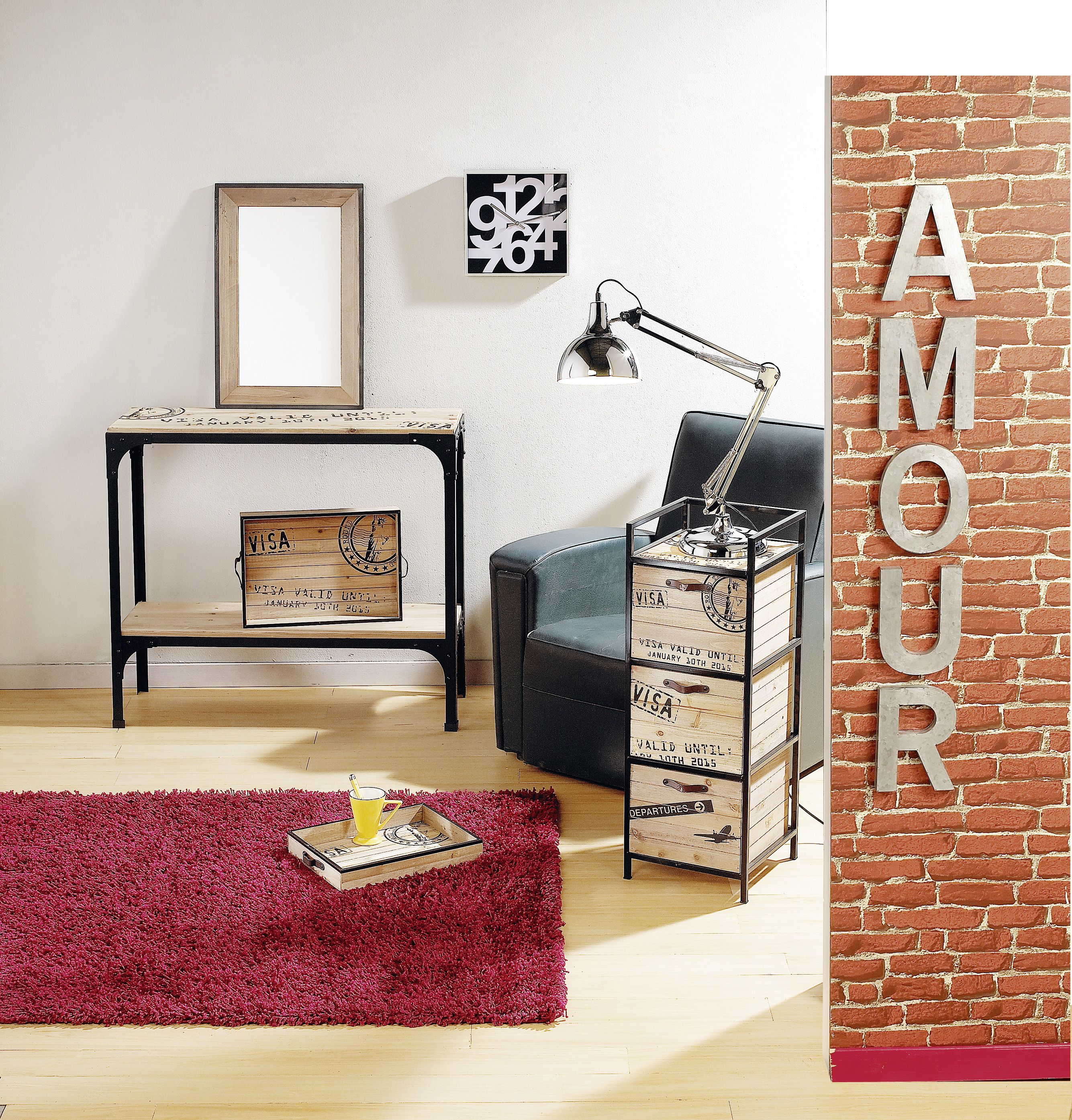 centrakor meuble de rangement fabulous with centrakor. Black Bedroom Furniture Sets. Home Design Ideas