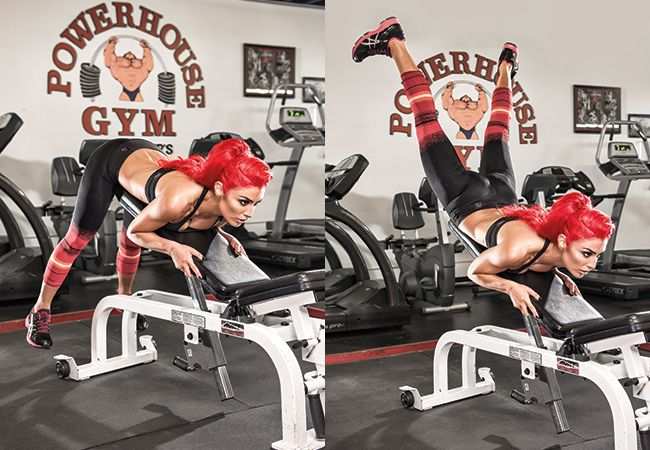 Try this incline bench glute raise exercise to sculpt a sexy