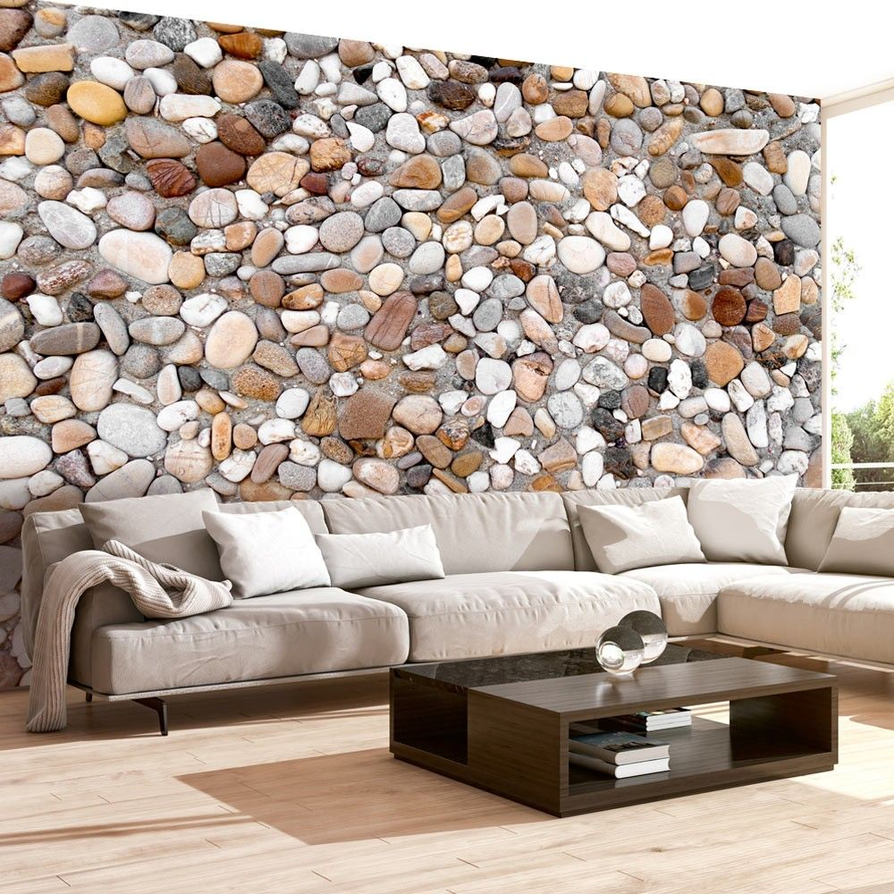 Wallpaper Stone Beach 3d Wallpaper Murals Uk Home Wallpaper