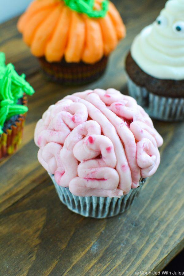 4 Easy Halloween Cupcake Ideas Easy halloween, Easy and Halloween - cupcake decorating for halloween
