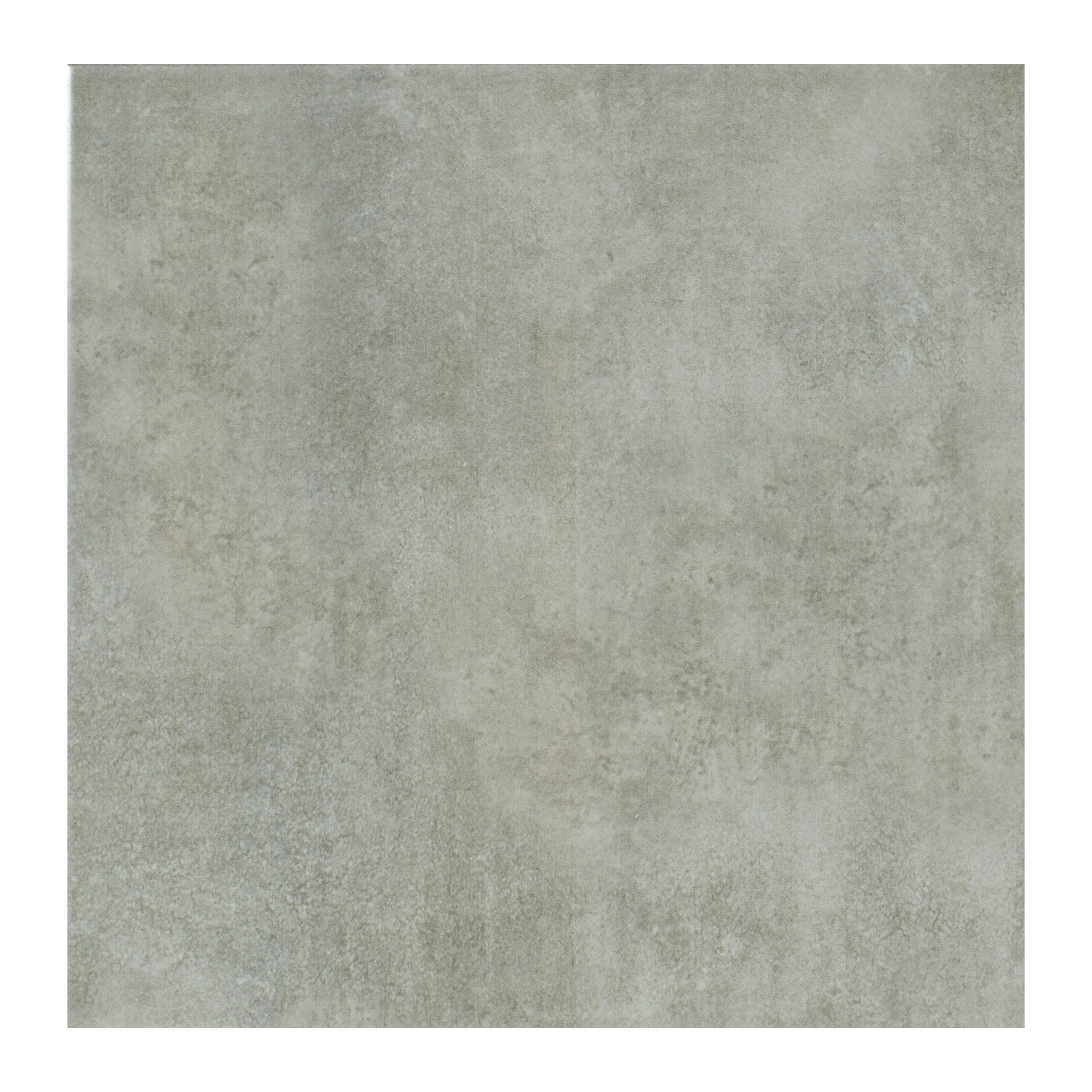 Floor mats b q - Lombardy Platinum Ceramic Floor Tile Pack Of 9 L 330mm W 330mm