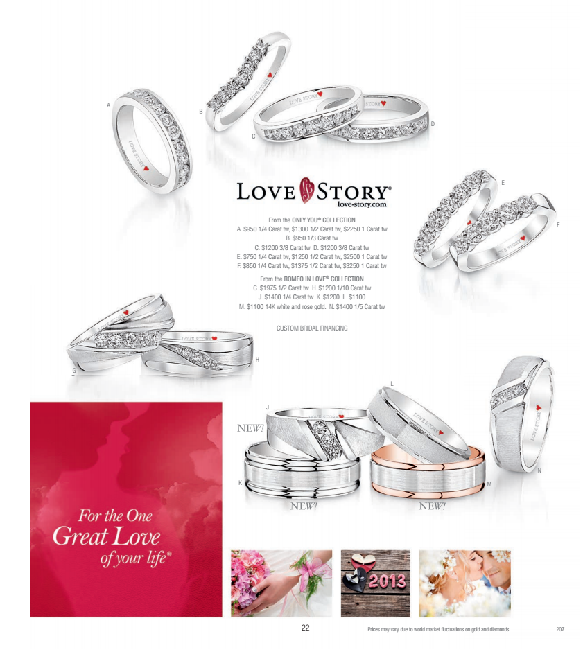 5 page spread in Greenberg\'s Jewelers Holiday Catalog! Greenberg\'s ...