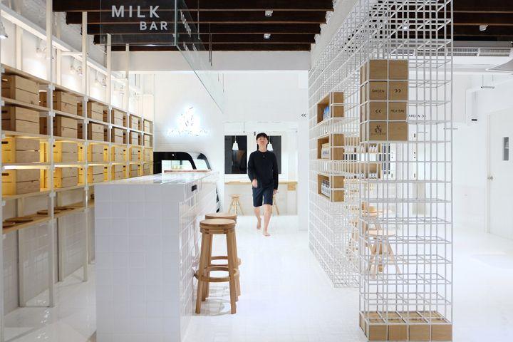 Butterfly Milkbar 36 By Thaipanstudio Bangkok Thailand With
