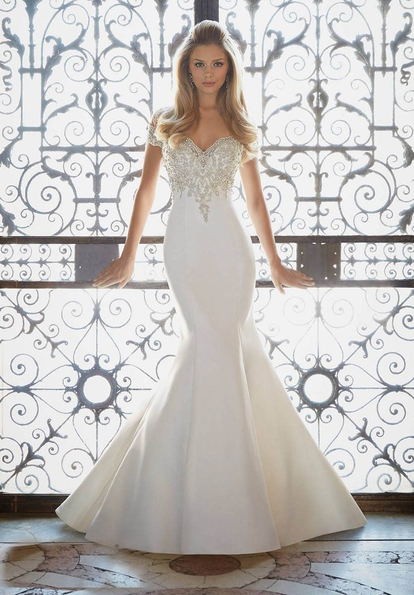 Cheap silver dresses for weddings  Mori Lee  Wedding Dress  hmm  Pinterest  Mori lee Wedding