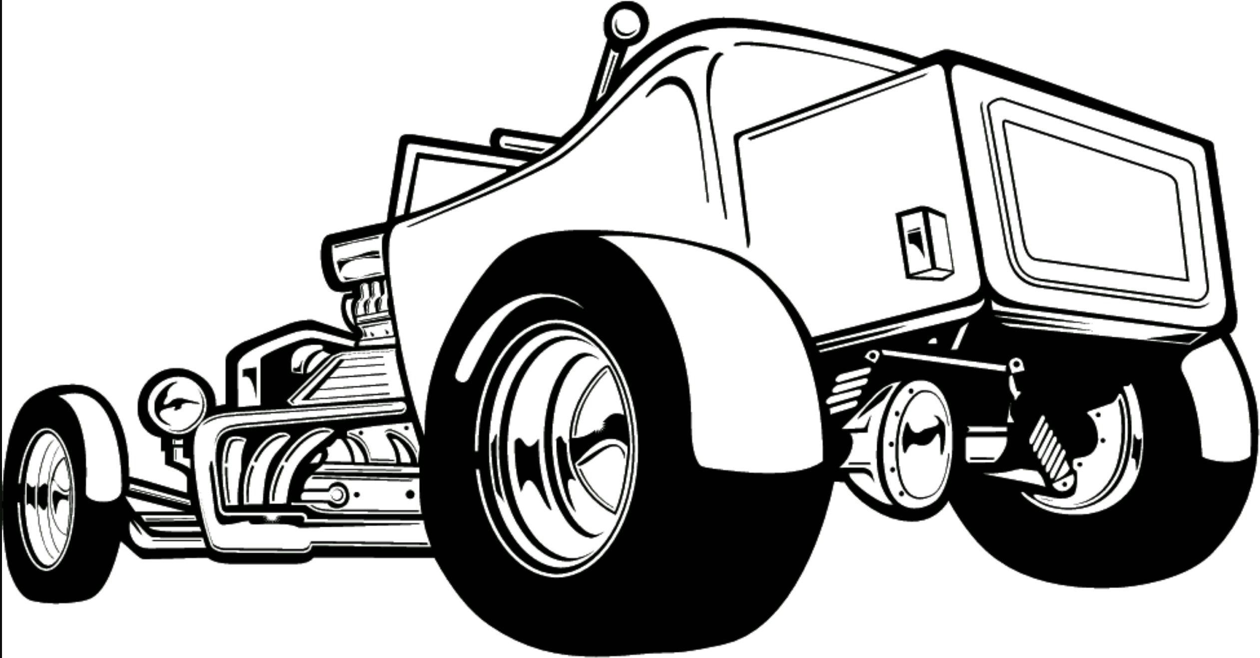 free cartoons clip art pictures car colors clips pencil art car [ 2522 x 1317 Pixel ]