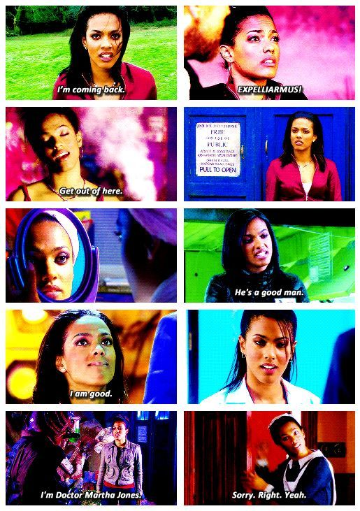Martha Jones. I'll never understand the hate she gets.