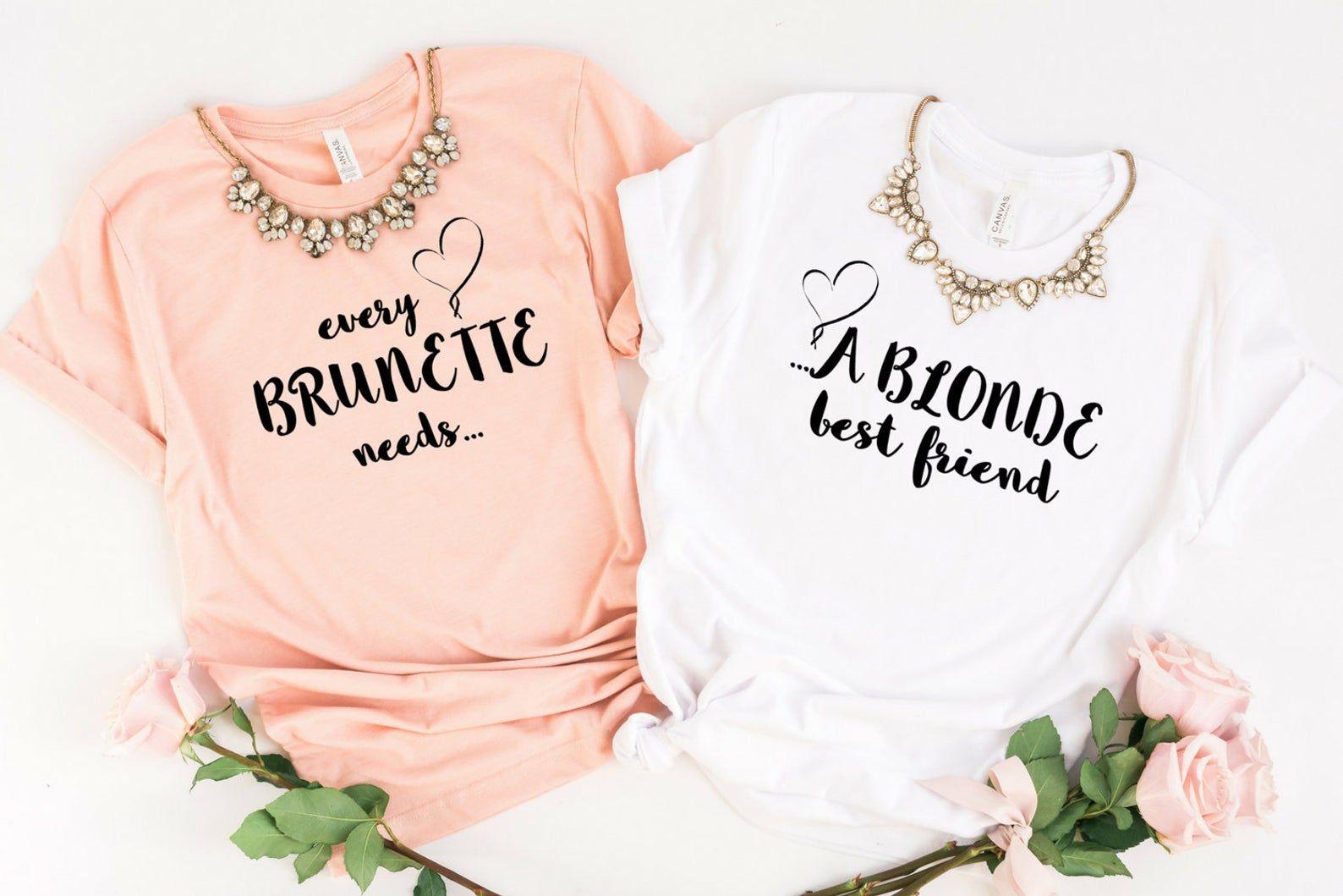 Blonde Bestie, Bestie, Best Friend Shirts