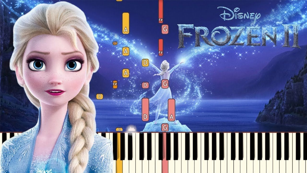 Show Yourself Idina Menzel Frozen 2 Piano Tutorial