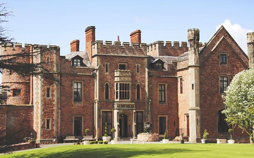 Rowton Castle wedding venue in Shropshire Castle wedding