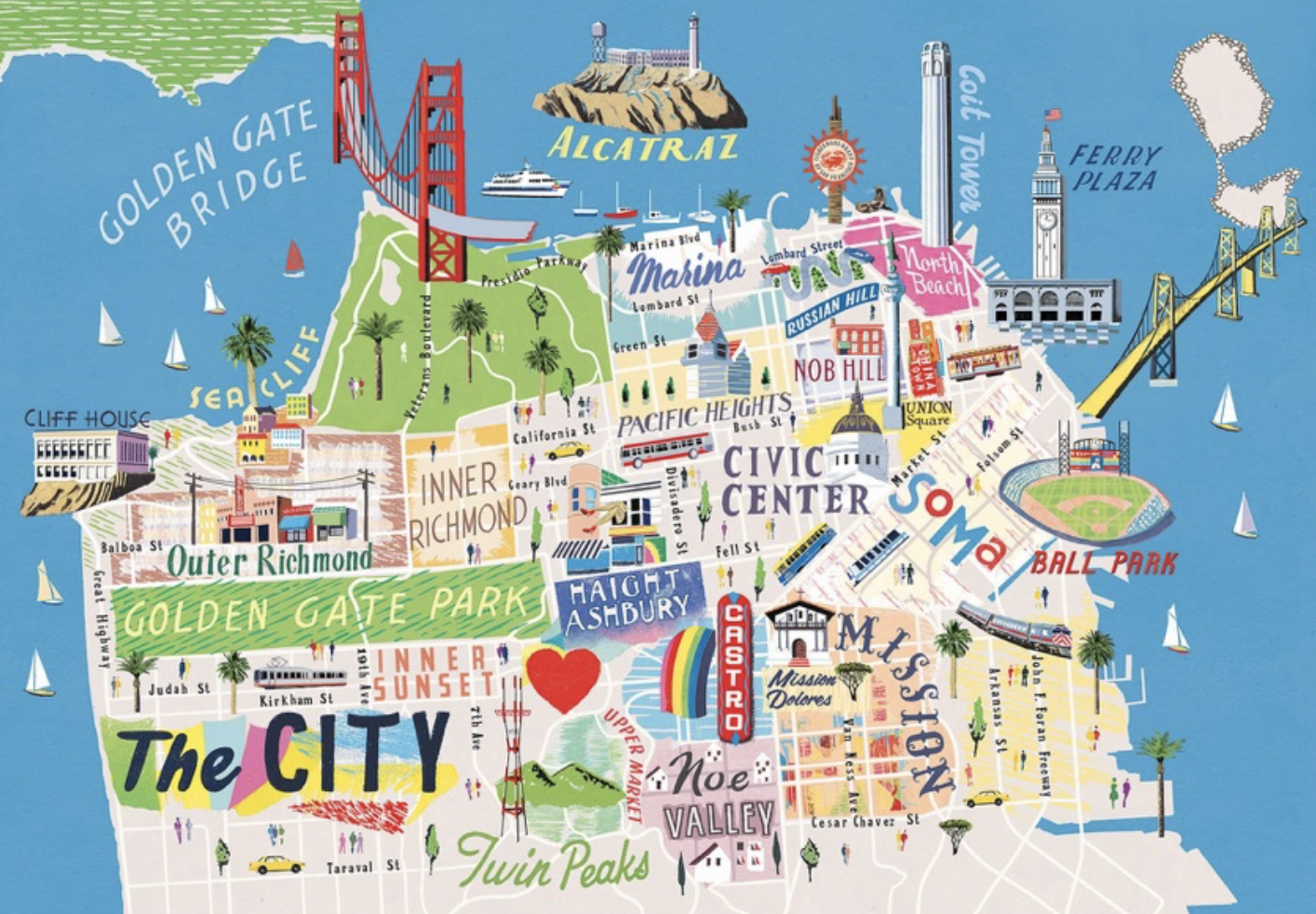 TRAVEL GUIDE: SEE SAN FRANCISCO IN LESS THAN 24 HOURS ... on northern ca map, california map, las vegas map, tokyo map, san diego, sausalito map, new orleans map, boston map, los angeles map, golden gate park map, united states map, london map, berkeley map, usa map, bay area map, chicago map, omaha map, detroit map, sydney australia map, dallas map, new york map, salt lake city map, kansas city map,