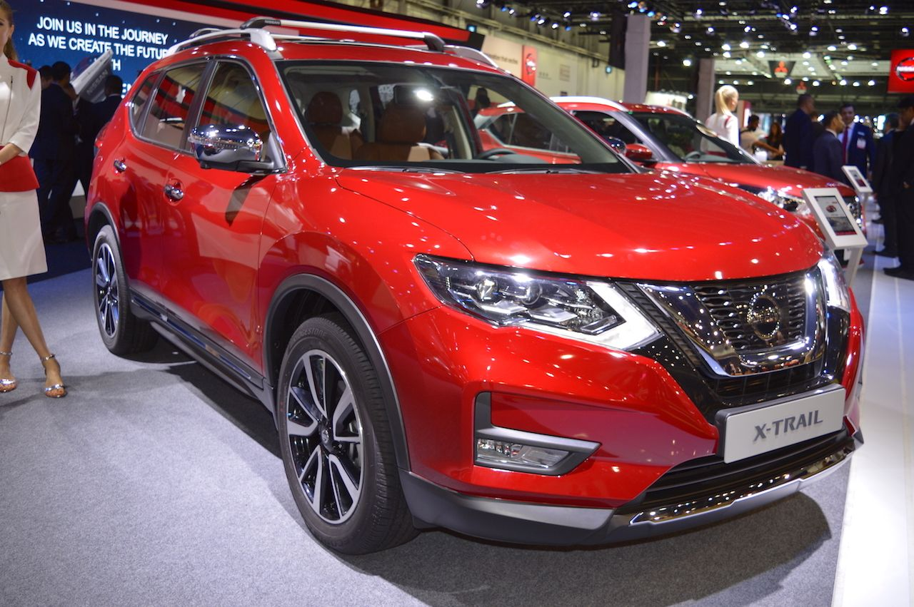 2018 Nissan X Trail Showcased At The 2017 Dubai Motor Show Nissan Nissan Xtrail Dubai