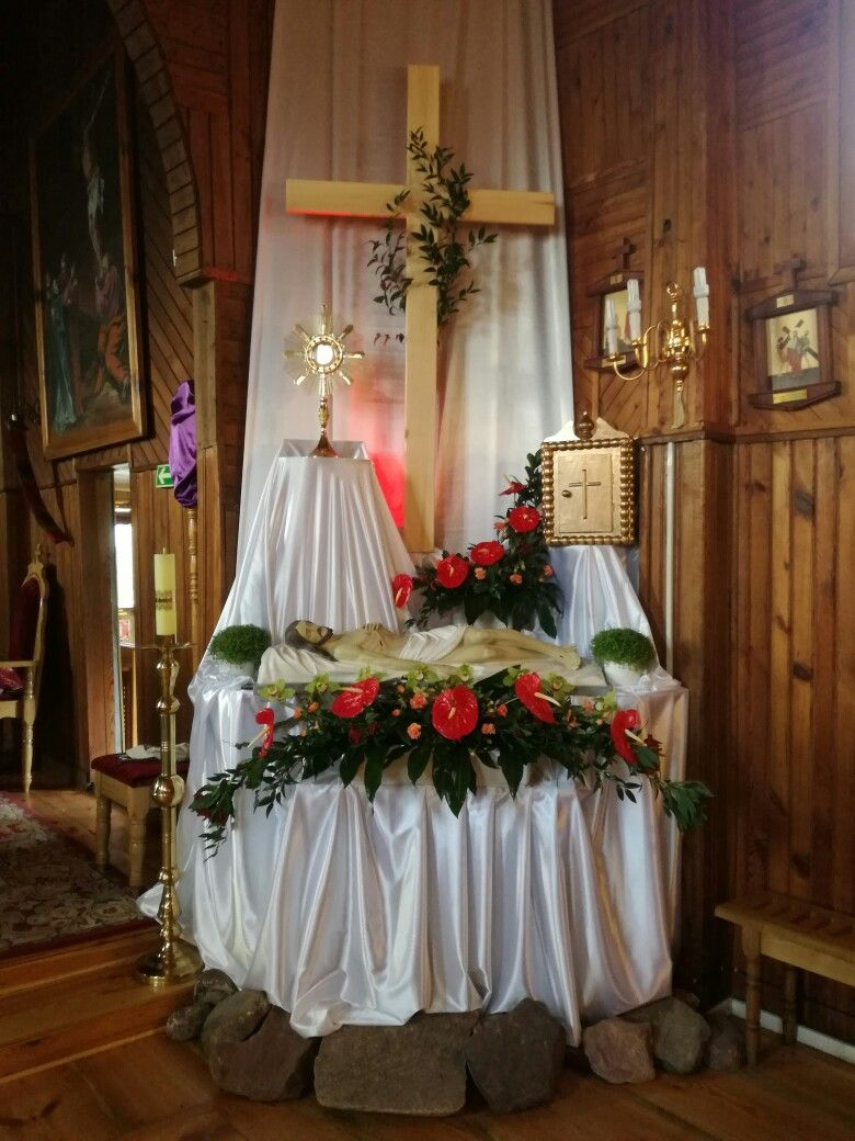 Grob Panski Zmudz Church Decor Church Easter Decorations Christmas Church