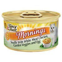 Purina Fancy Feast Mornings Soufancy Feastl Chicken Food 24 by 3 oz ** For more information, visit image link.
