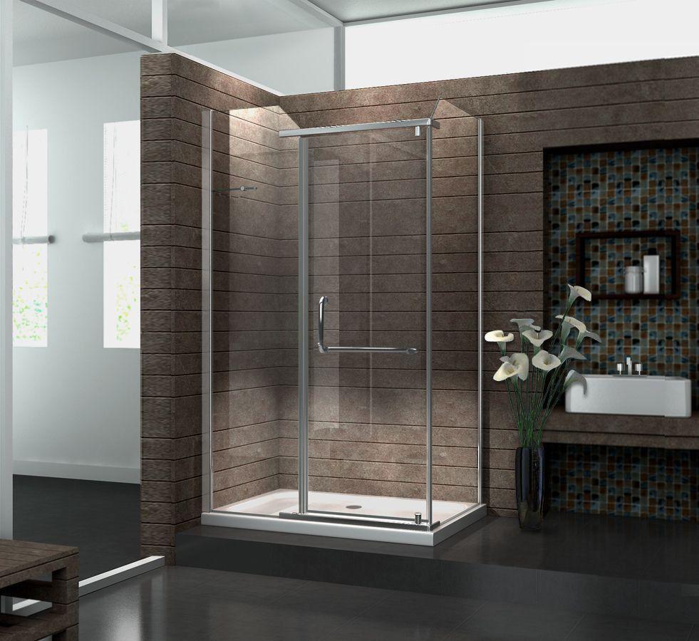 Duschkabine VITA 120 x 90 x 195 cm ohne Duschtasse (mit