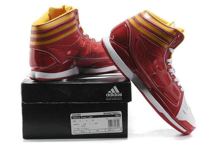 Derrick rose 98 shoes discount Crazy Light Red White