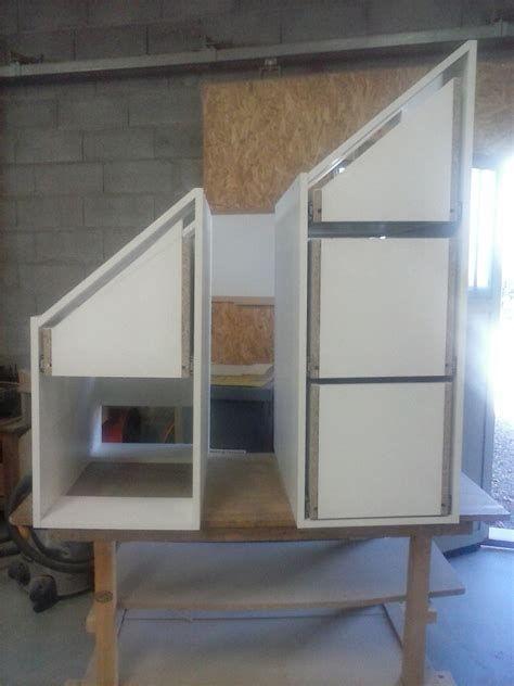 Meuble sous escalier par CREATION BOIS sur L\u0027Air du Bois desain