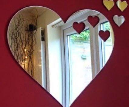 Heart Shaped Mirror Heart Mirror Mirror Heart Shapes