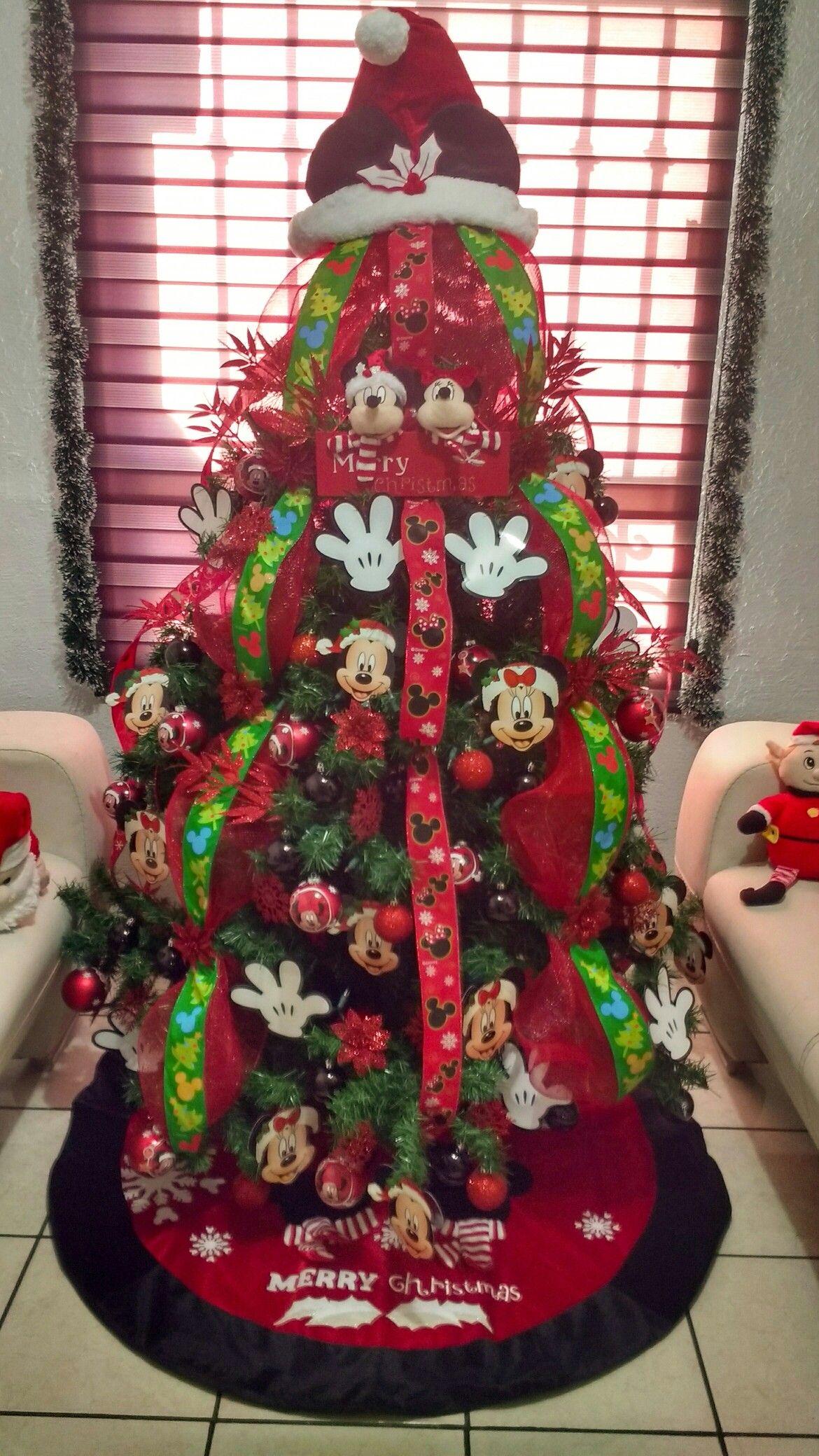 Arbol de navidad mickey mouse arbol pinterest - Decoracion de arboles navidenos para ninos ...