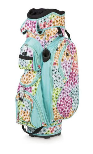 Room It Up/All For Color Ladies Cart Golf Bags - Garden ...