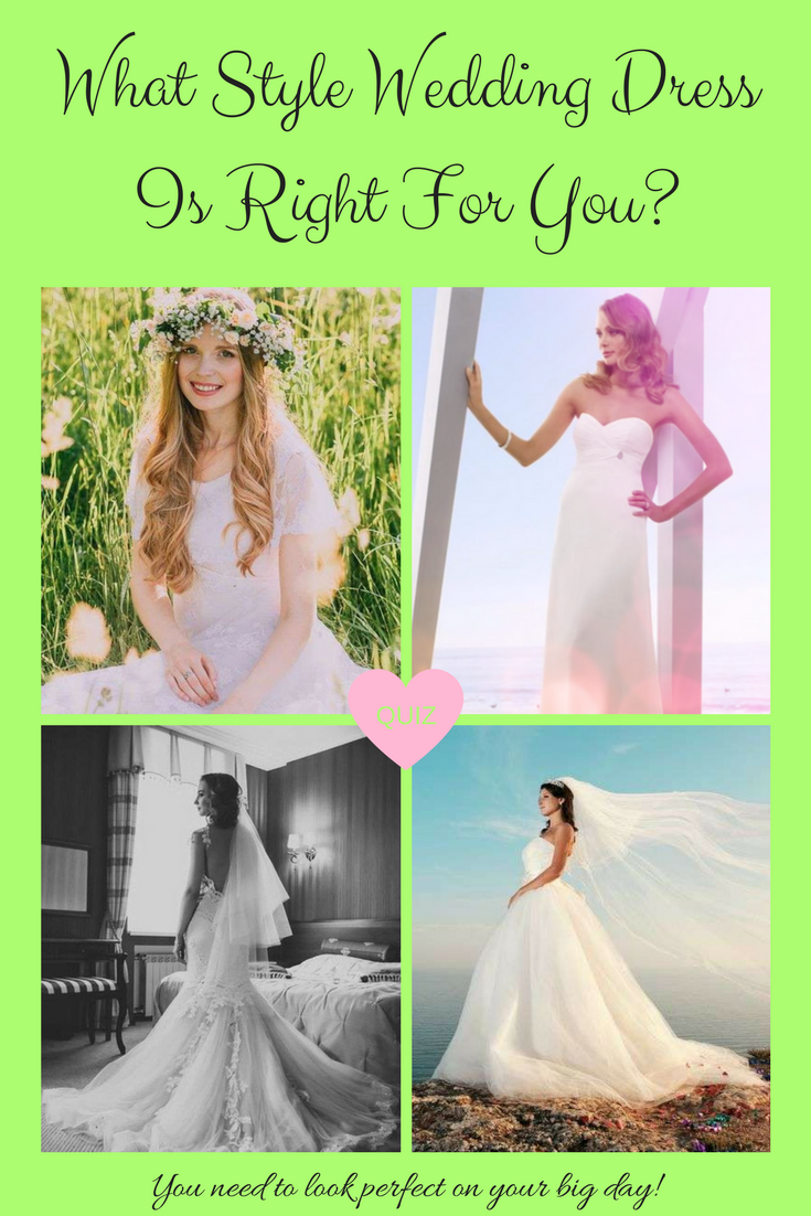 What Is Your Dream Wedding Dress Quiz Bridle Wedding