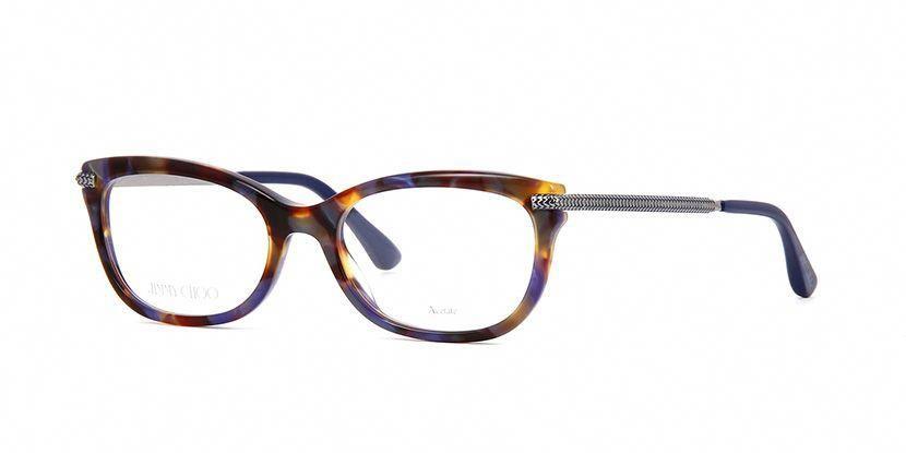859c376d0bf2 Jimmy Choo JC217 JBW Blue Havana and Dark Ruthenium Glasses ...