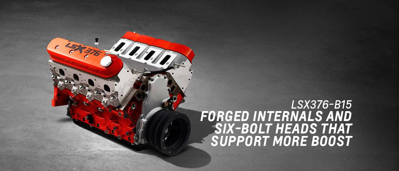 LSX 376-B15 Crate Engine - Race Engine | Chevrolet | Mustang