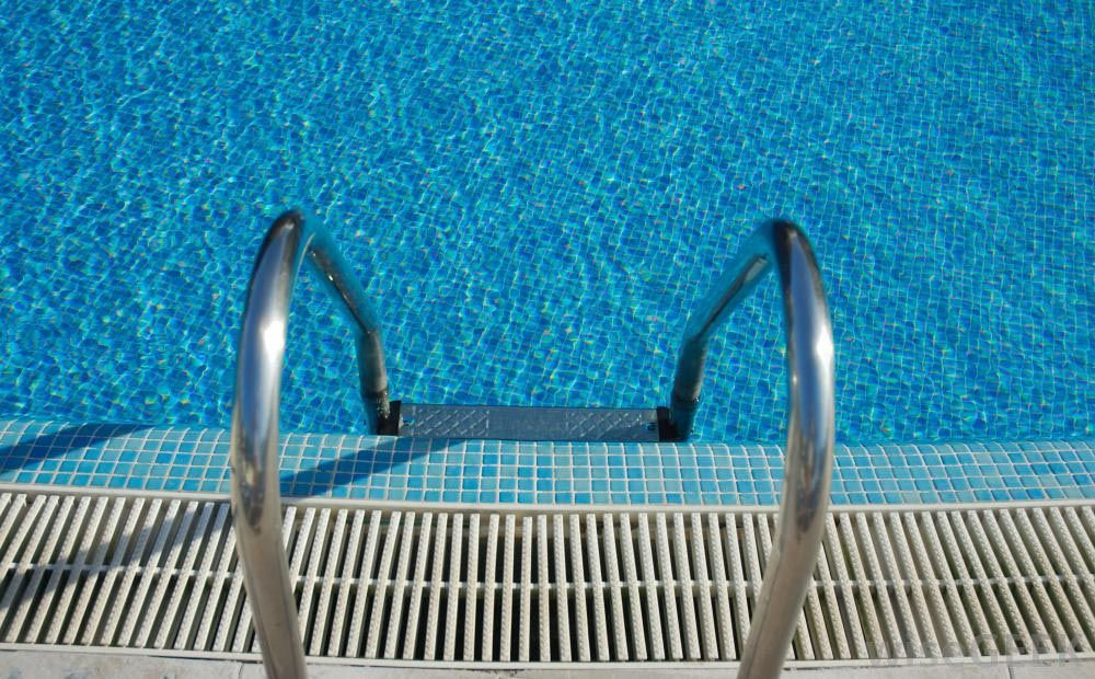 swimming pool tile grout pool ladder