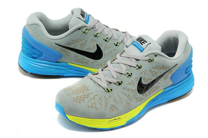 lowest price 00bbf b3e06 ... official store mens nike lunarglide 6 ext suede 654433 005 light magnet  grey photo blue volt