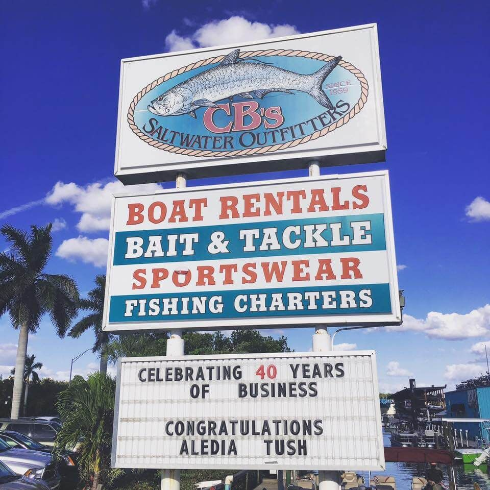 Cb S Saltwater Outfitters On Siesta Key Saltwater Fishing Bait And Tackle Saltwater