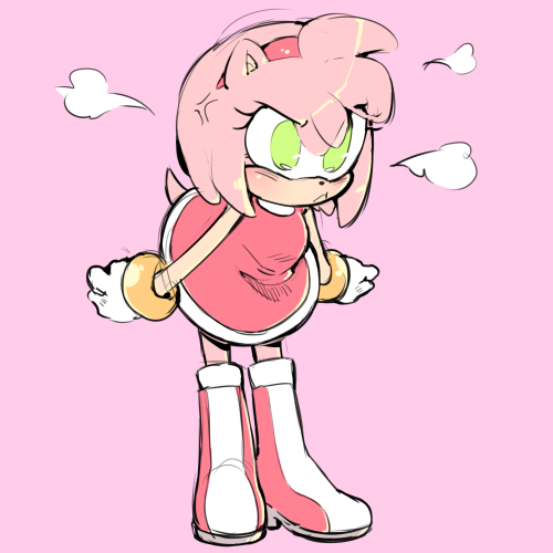 So Frustrating Amy The Hedgehog Amy Rose Sonic And Amy
