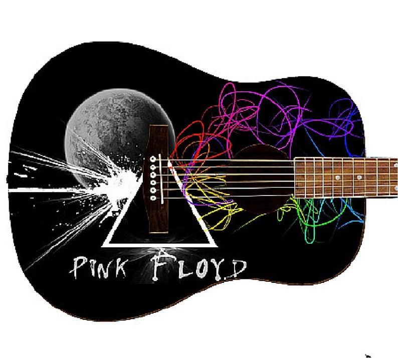 Pink Floyd Custom Guitar