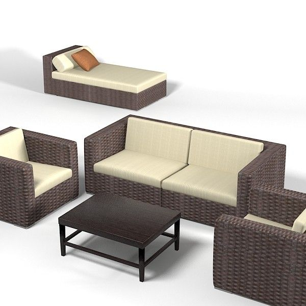 outdoor furniture 3d model free photo gallery backyard - Garden Furniture 3d