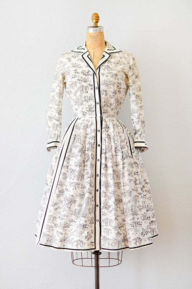 French Vintage Dresses