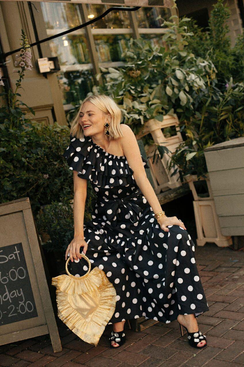Polka Dot Wedding Guest Dress