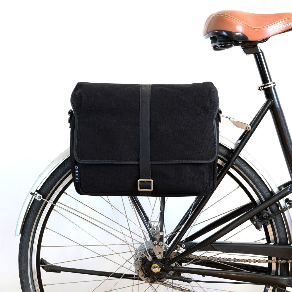 Fahrradtasche und Umhängetasche Toronto am Gepäckträger