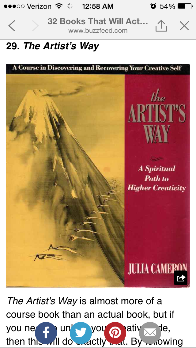 Pin By Ronette Quitoriano On Need To Read The Artist S Way Spiritual Path Julia Cameron